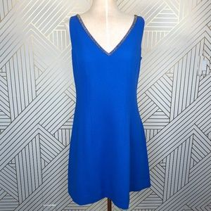 Lilly Pulitzer Monica Embellished Dress Sapphire